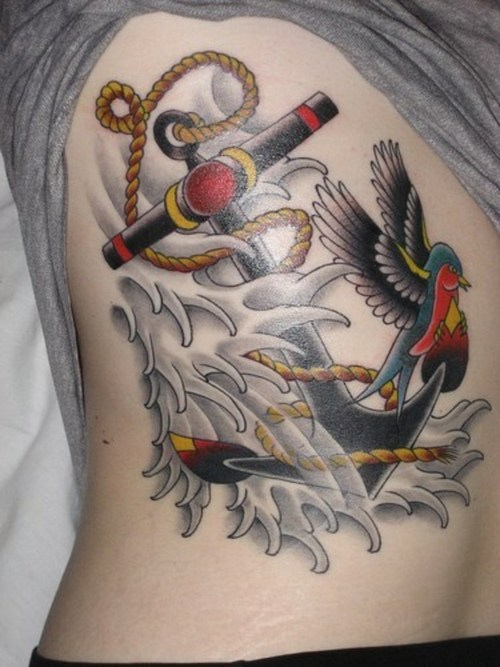 Beautiful Anchor Tattoo Designs
