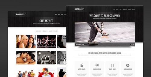 Goodways - Entertainment and Film WP Theme