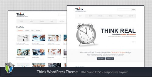 Think - Responsive Corporate WordPress Theme