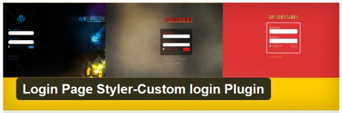 Login Page Styler-Custom Login Plugin