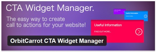 OrbitCarrot CTA Widget Manager