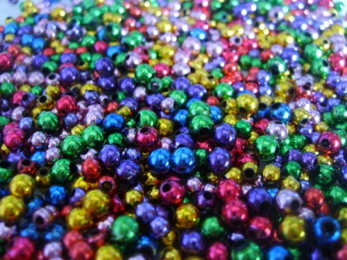 Colorful Beads Free Texture