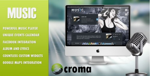 Music - WP Musicians Theme