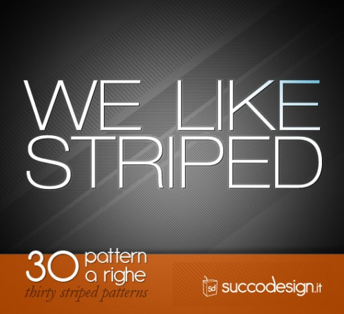 30 Striped Patterns for Photoshop