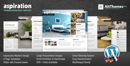 Aspiration Corporate and Portfolio Theme