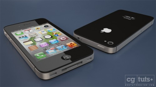Creating The iPhone 4S In 3D Studio Max