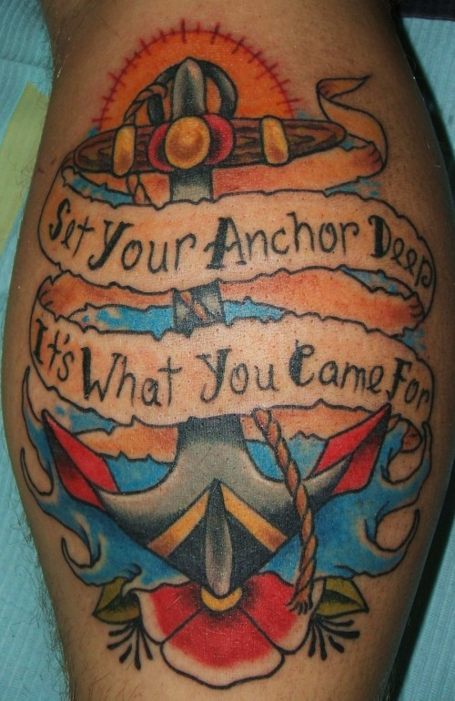 Fantastic Anchor Tattoo Trend