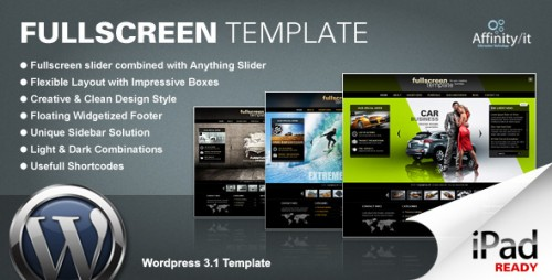 Fullscreen - Business WordPress Theme