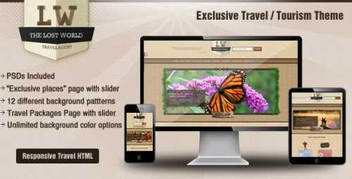 Lost World-Travel Responsive HTML Theme