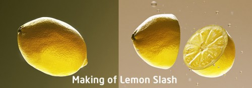 Making of Lemon Slash
