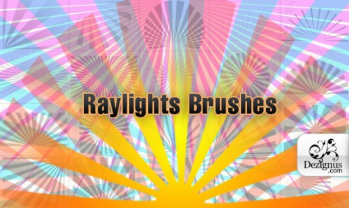 Raylight Brushes for Photoshop