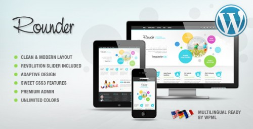 Rounder: Adaptive WordPress Theme