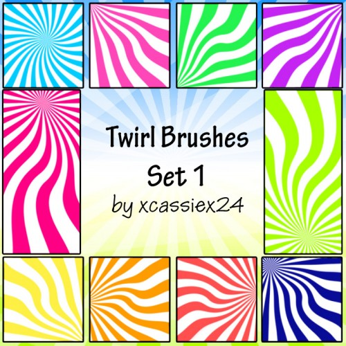 Twirl Brushes Set