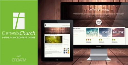 Genesis Church - Responsive WP Theme