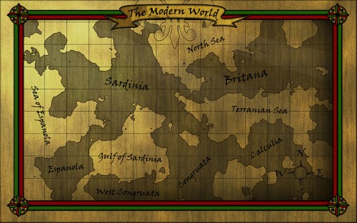 Olde Map Photoshop Texture