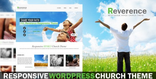 Reverence - Church Responsive HTML 5 Theme