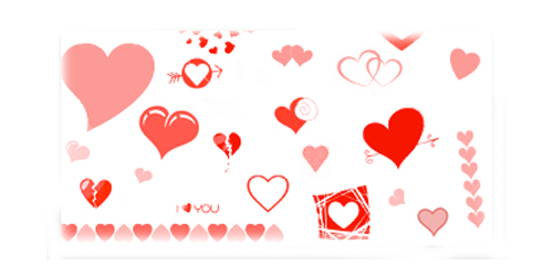36 Free Heart Brushes