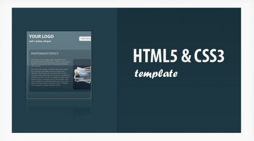 CSS3 & HTML5 One-Page Website Template