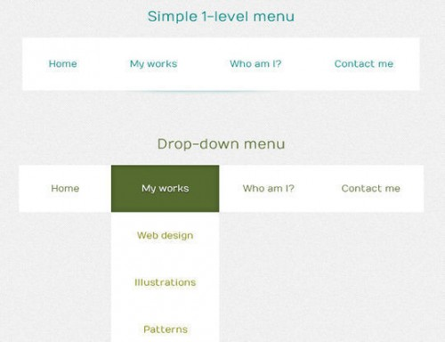 Custom Attributes to Create a CSS3 Menu