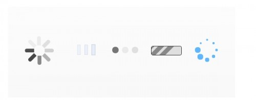 Ajax Style Loading Animation in CSS3