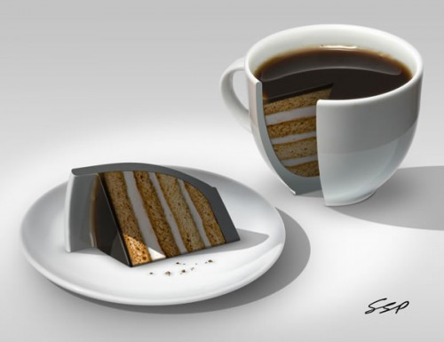 Create a Coffee Cake Photo Manipulation