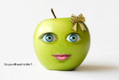 How to Create a Cute Green Apple