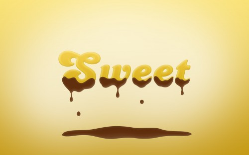 Sweet Chocolate-Coated Text Effect