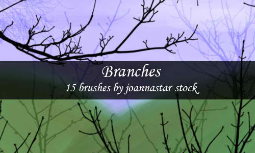15 Branch Brushes for Free Download
