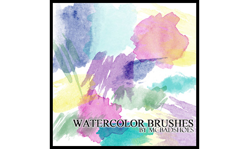 38 Watercolor Brushes