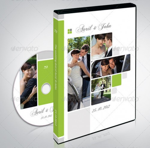 Wedding DVD Covers