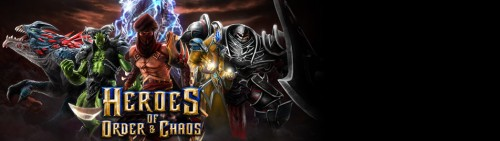 Heroes of Order & Chaos HD
