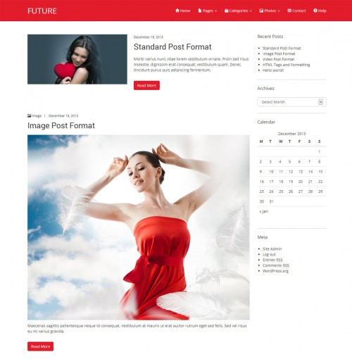 Future – Free WordPress Theme