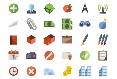 3600 Free Flat Icons for Download