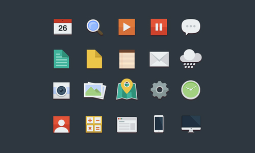 Cool Free Flat Icons