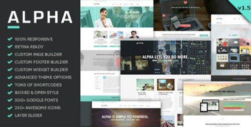 Alpha - Ultra Flexible Responsive WordPress Theme
