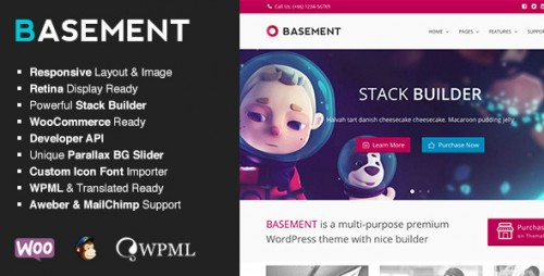 Basement - Responsive Multi-Purpose Theme