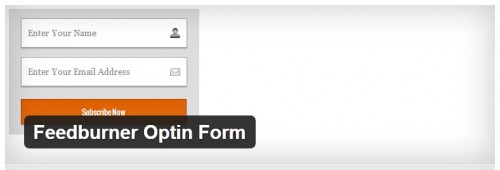 Feedburner Optin Form