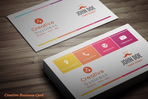 15 fresh original business cards designs designemerald creative original business card reheart Gallery