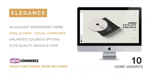 ELEGANCE - Creative WordPress Theme with Shop