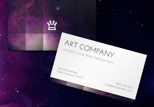 Mosaic Business Card Design