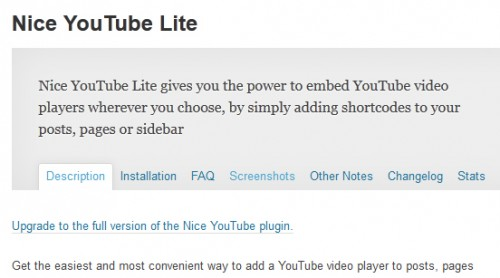 Nice YouTube Lite
