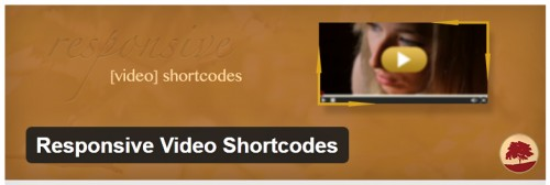 Responsive Video Shortcodes