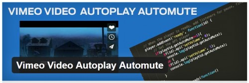 Vimeo Video Autoplay Automute
