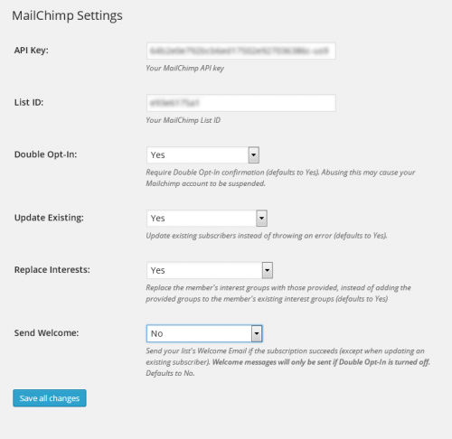 MailChimp for Paypal Shopping Cart