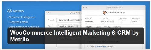 WooCommerce Intelligent Marketing & CRM by Metrilo