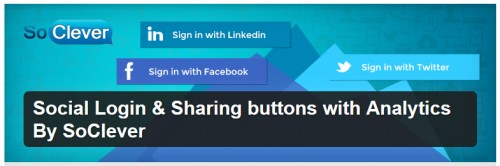 Social Login & Sharing Buttons