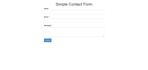 All in One - Simple & AJAX PHP Forms