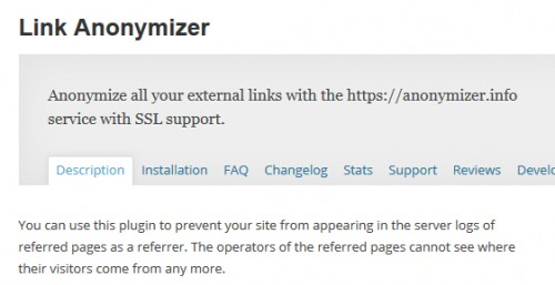 Link Anonymizer