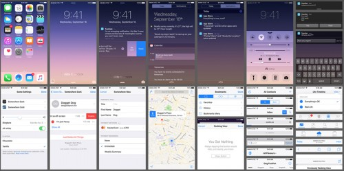 Free Download iOS 9 UI Kit
