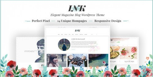 Ink - Elegant Magazine Blog WordPress Theme